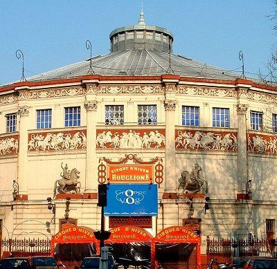 Le Cirque d'Hiver Bouglione – Paris
