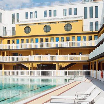 Journée du patrimoine 2016 à la piscine Molitor
