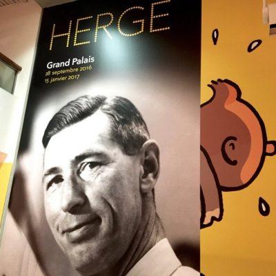 Hergé à l'ombre de Tintin – RMN Grand Palais